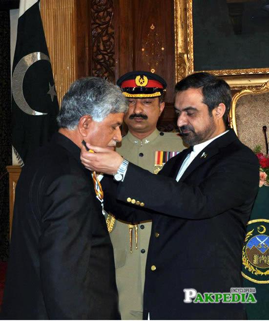 Vice chancellor Awarded