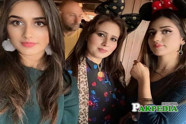 Alishba Anjum Family