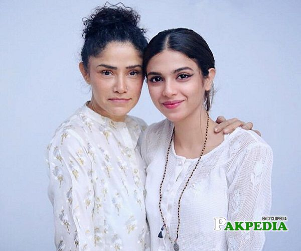 Angeline with Sonia Hussain