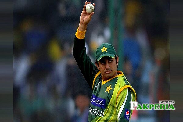 Saeed Ajmal Biography