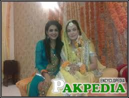 Sadia Imam Dholki Nikkah Wedding Pictures