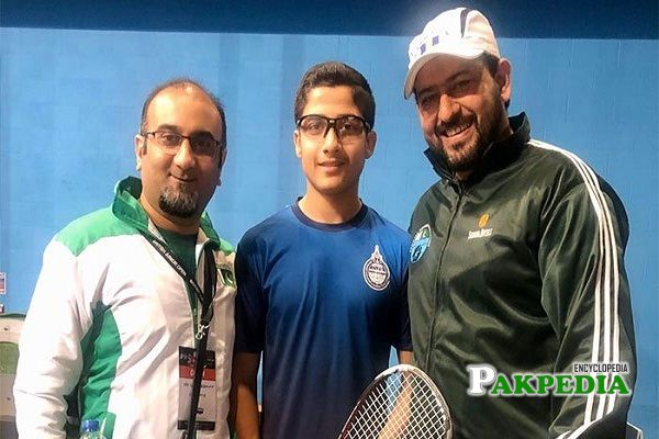 Hamza bagged the title of Fifth Pakistani to win British Junion Open U-15