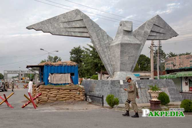 PAF base in Kamra