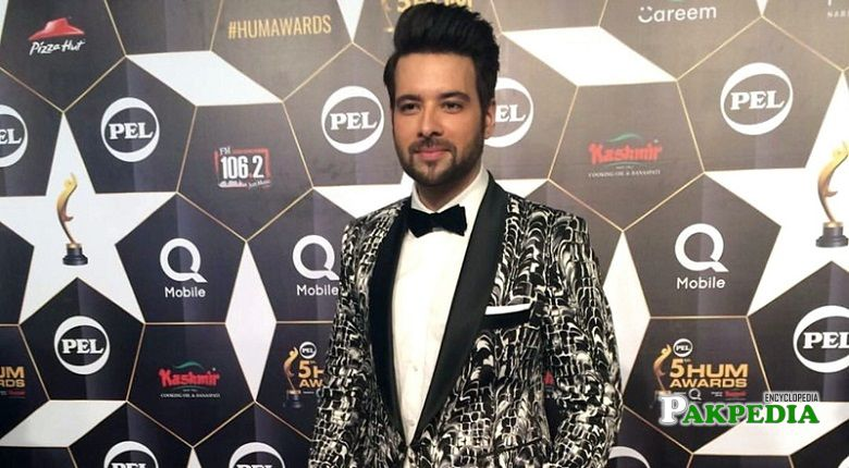 Mikaal Zulfiqat at 5th HUM Awards