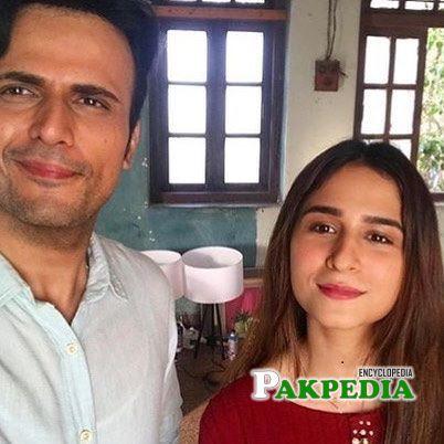 Natalia owais with usman mukhtar