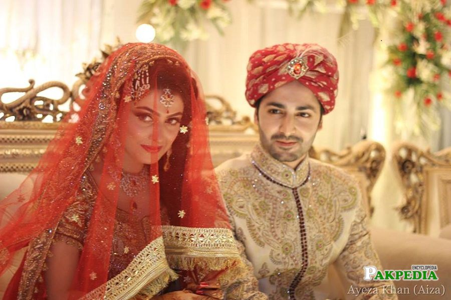Danish Taimoor at his big day