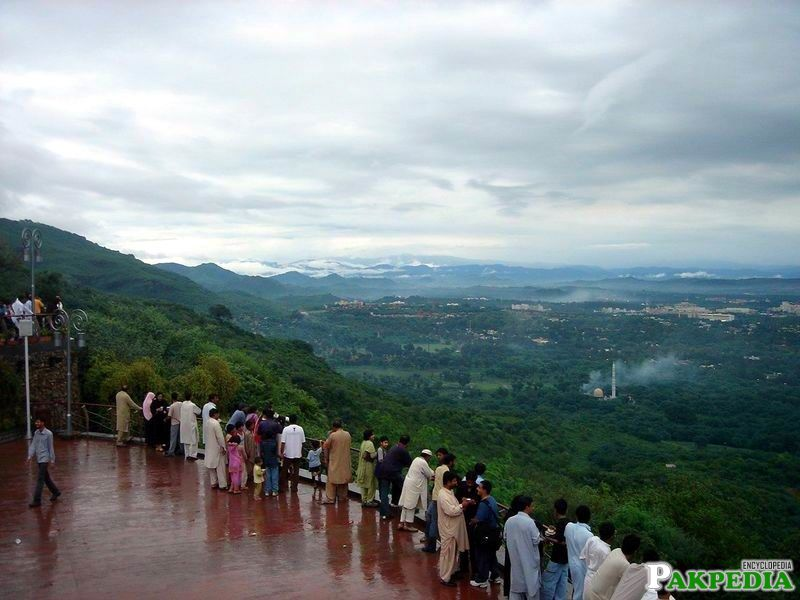 Daman-e- Koh View Point