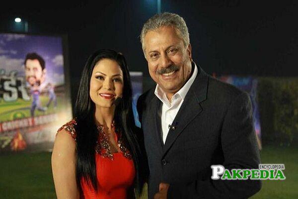 Zaheer Abbas wife