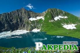 A Beautiful lake in Neelam Valley