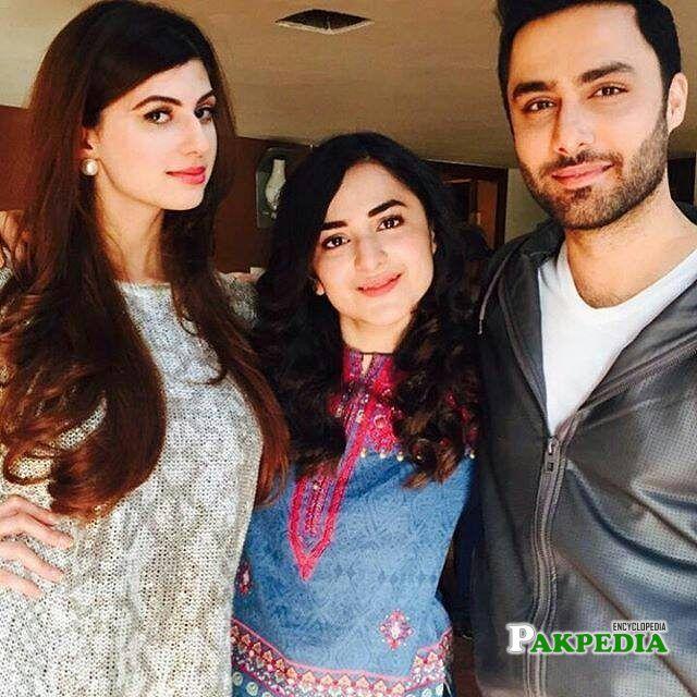 With Yumna Zaidi and Anam Gohar