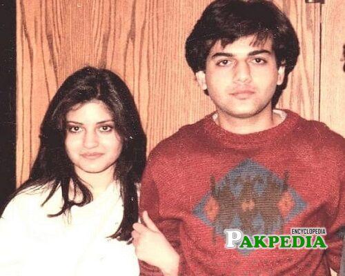 Zohaib Hassan Family