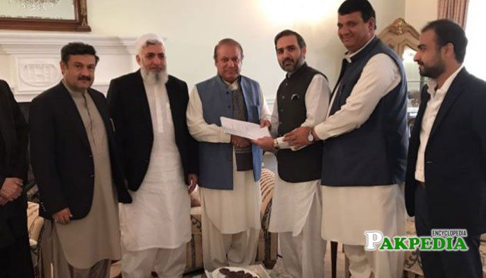 Joined PML-N Party