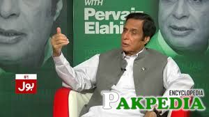 Chaudhry Pervaiz Elahi at Bol channel