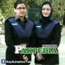 Suhai Aziz with her mate