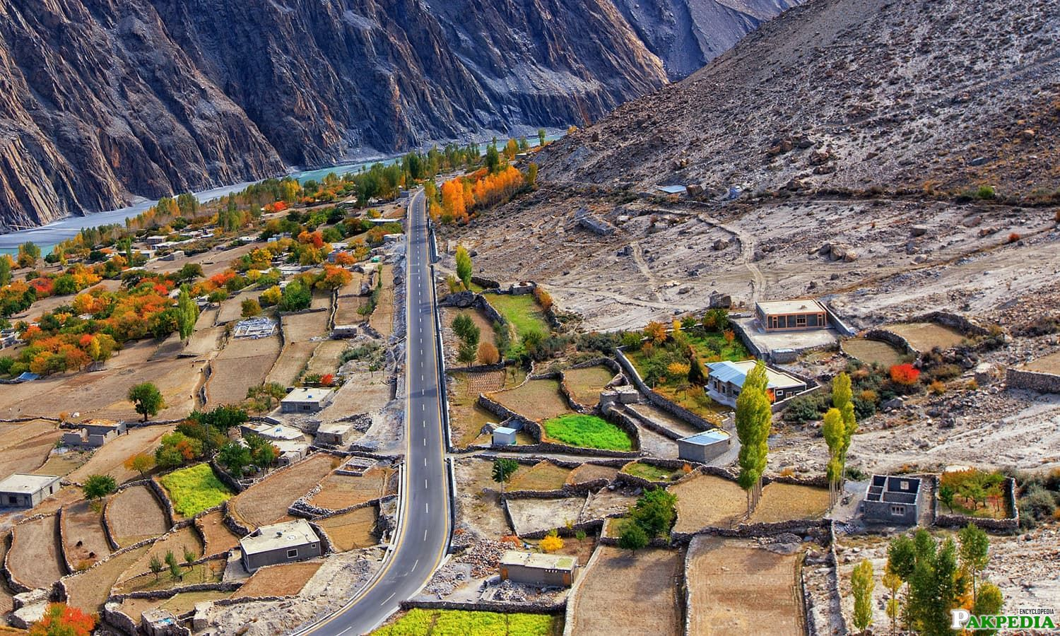 Gojal Valley Town