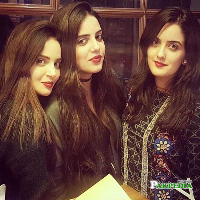 Armeena Khan Family