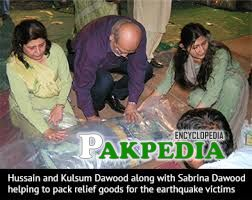 Packaging of goods for earthquake affected areas