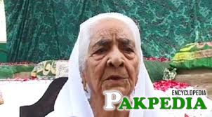 Mother of Raheel shareef