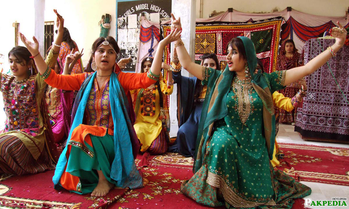 Sindhi Folk Music Dance