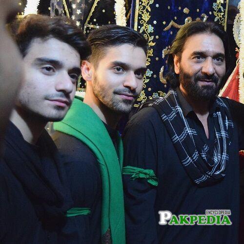Nadeem Raza Sarwar family