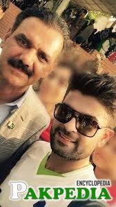 Asim Saleem Bajwa with his son