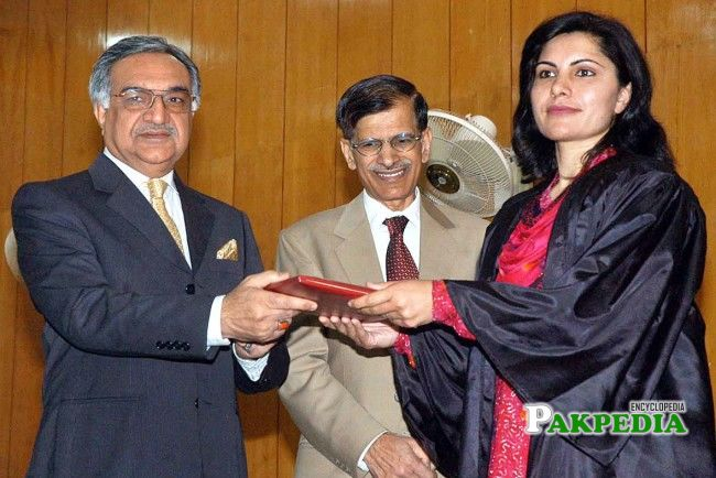 While giving awards to Position holders