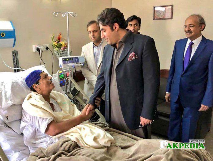 Bilawal visit to meet ayaz somroo