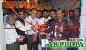 Khuwaja Sohail Mansoor at opening