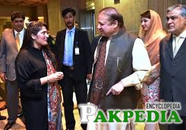 Prime Minister of Pakistan Nawaz Sharif and Academy Award Winning Filmmaker Sharmeen Obaid Chinoy in conversation