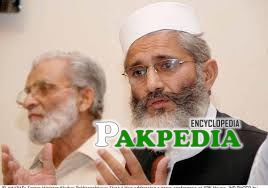 Siraj ul Haq is a Senior Minister of KPK