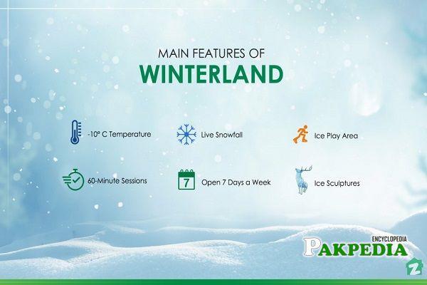 Winter Land Karachi Location