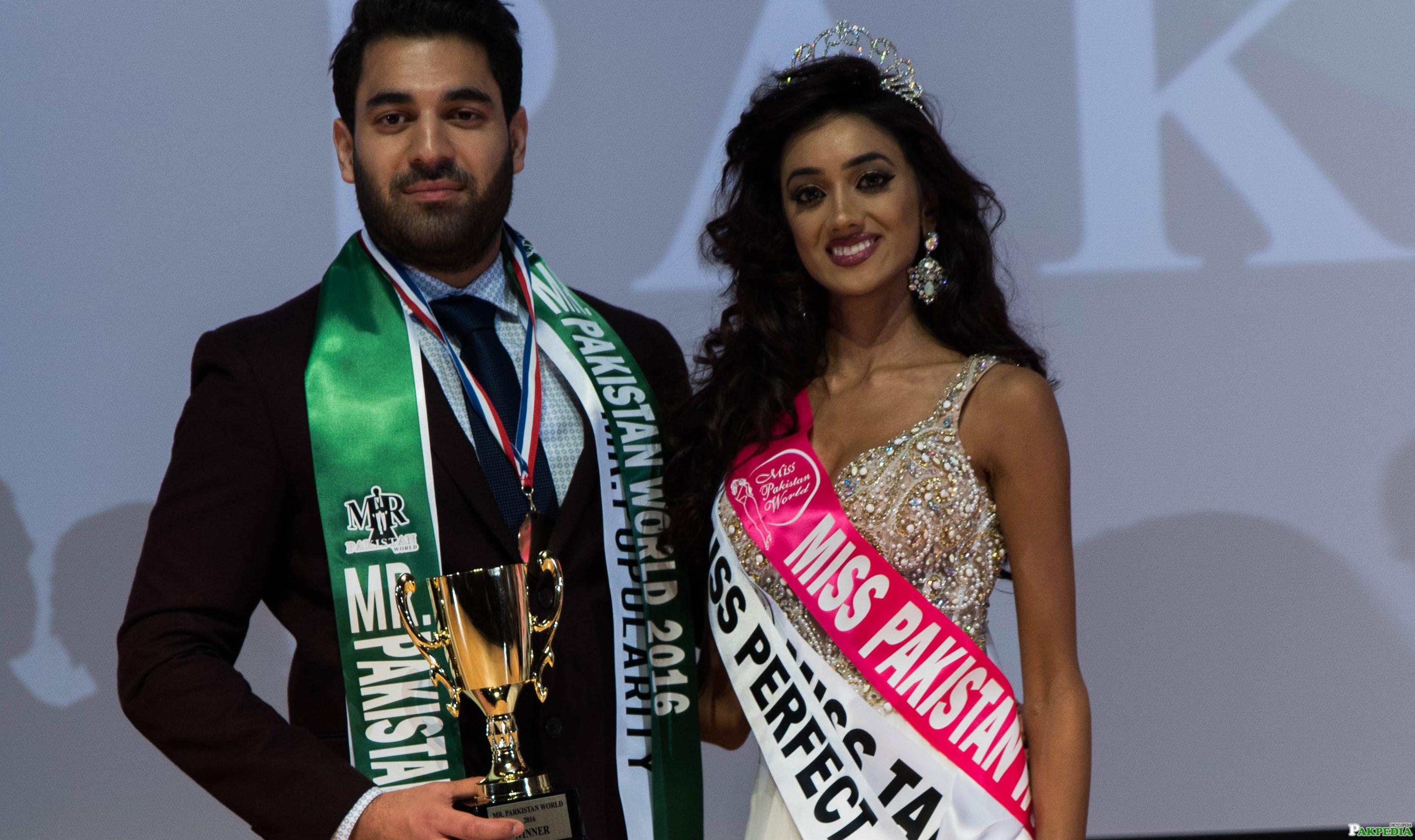 Miss pak and Mr Pakistan