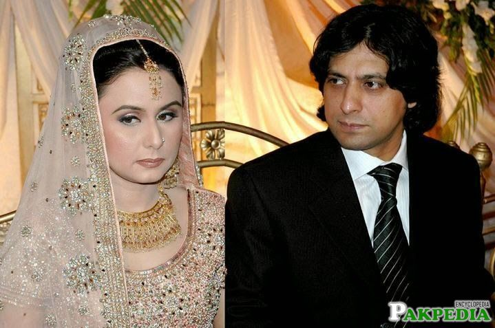 Jawad Ahmed with Wife