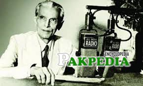 Quaid-i azam'a address on Radio Pakistan