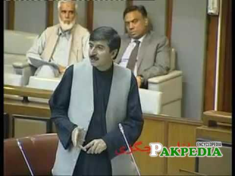 While addressing parliament session