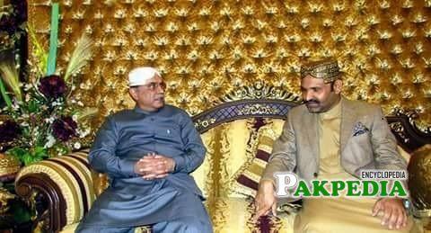 Ali Gohar khan meeting with Asif Zardari