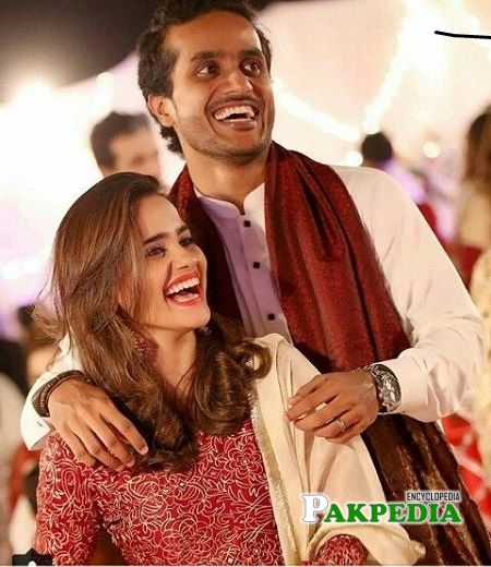 Rabya Kulsoom Rehan with her husband Rehan Nazim