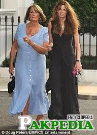 Jemima nd her mother Anabelle