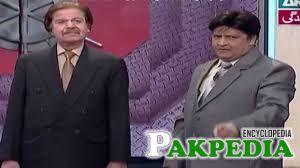 Qazi Wajid In comedy show