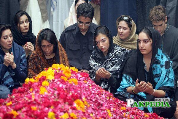 Benazir Bhutto death