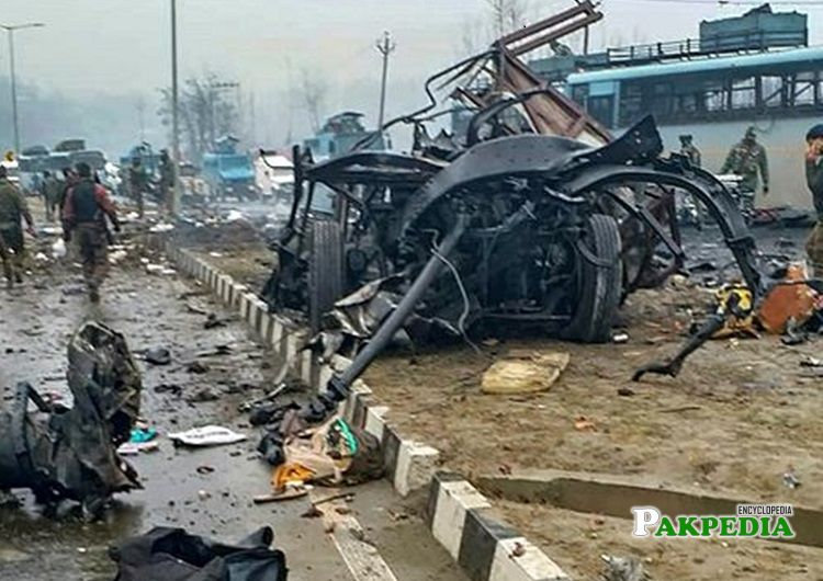 Pulwama attack took place on 14th feb which results in many deaths