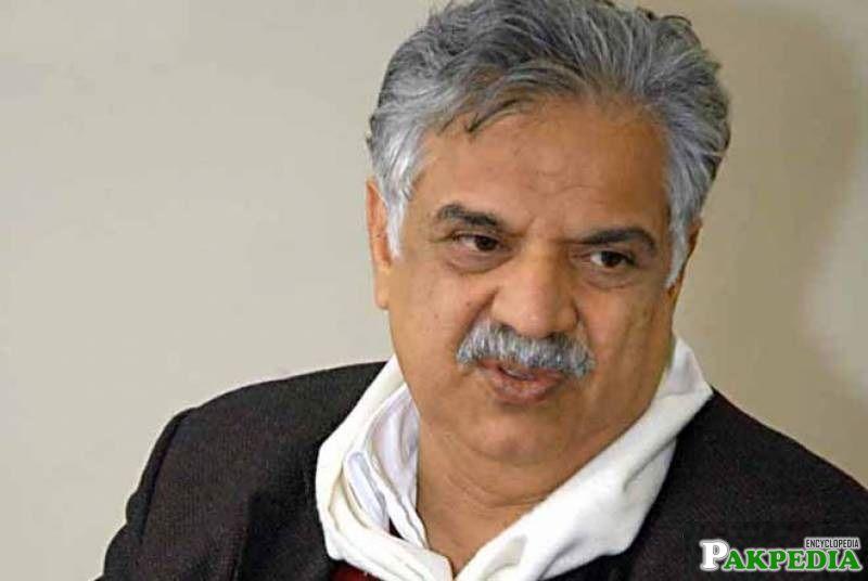 Iqbal Zafar Jhagra Member of PML N