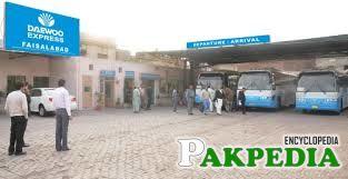 Daewoo Express Bus Service Pakistan Faisalabad Terminal