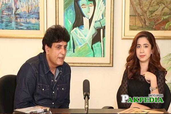 Khalil ur Rehman Qamar during an interview