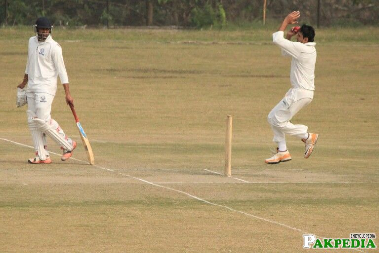 Mohammad Abbas in Action