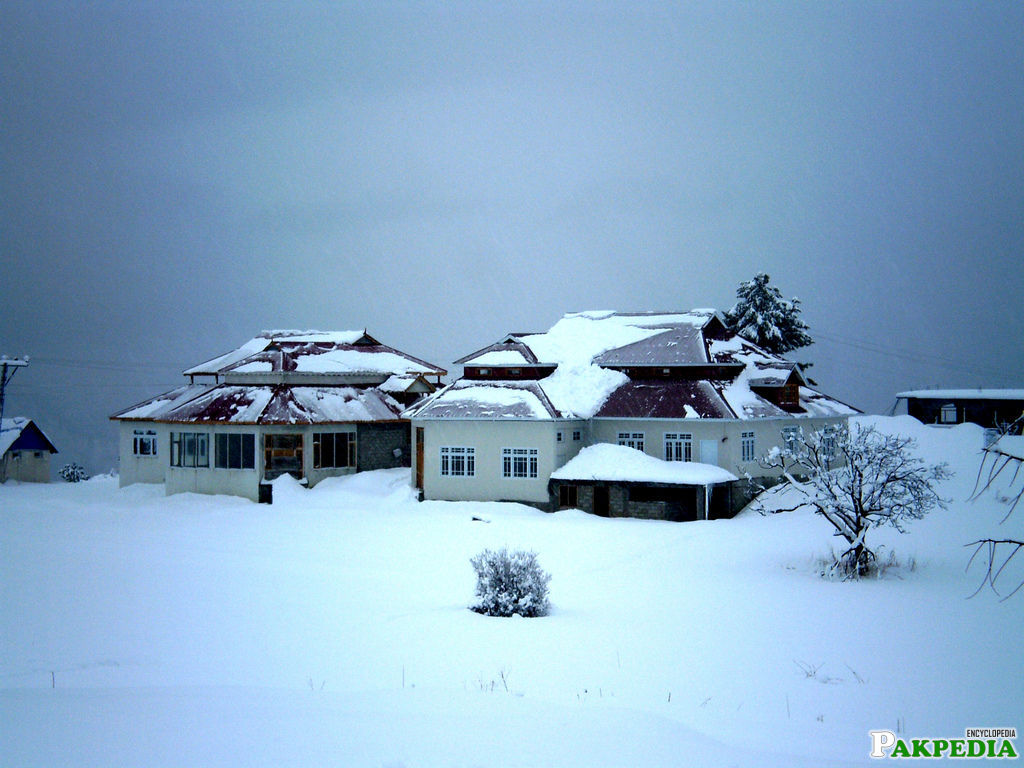 Shogran in Winter