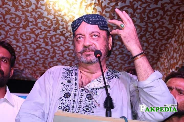 Agha Siraj Durrani Biography