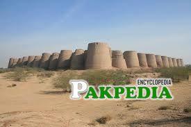 Derawar Fort is located in the Desert