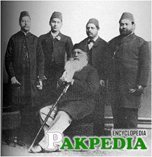 Sir Syed Ahmed Khan in Punjab