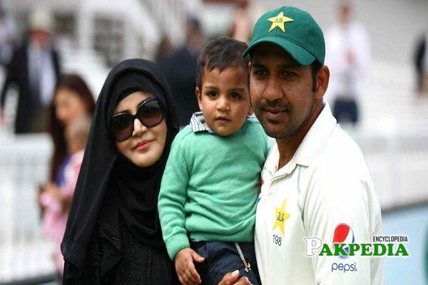 Sarfraz Ahmed Family